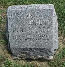GROTH, HERMAN - DuPage County, Illinois | HERMAN GROTH - Illinois Gravestone Photos