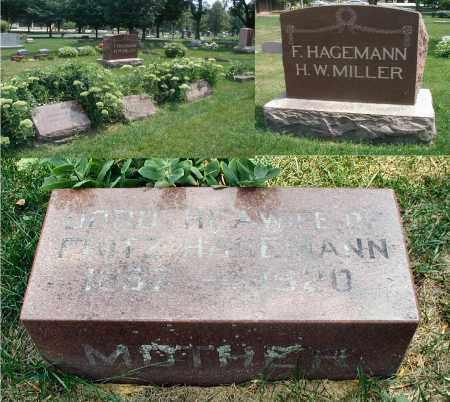 HAGEMANN, DOROTHEA - DuPage County, Illinois | DOROTHEA HAGEMANN - Illinois Gravestone Photos