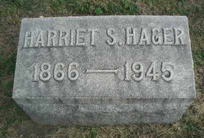 HAGER, HARRIET S. - DuPage County, Illinois | HARRIET S. HAGER - Illinois Gravestone Photos