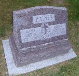 HAINES, AGNES D. - DuPage County, Illinois | AGNES D. HAINES - Illinois Gravestone Photos