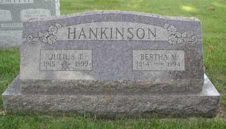 HANKINSON, BERTHA M. - DuPage County, Illinois   BERTHA M. HANKINSON - Illinois Gravestone Photos