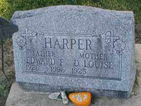 HARPER, EDWARD F. - DuPage County, Illinois | EDWARD F. HARPER - Illinois Gravestone Photos