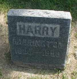HARRINGTON, HARRY - DuPage County, Illinois | HARRY HARRINGTON - Illinois Gravestone Photos