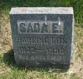 ANGLEMIRE HARRINGTON, SADA E. - DuPage County, Illinois | SADA E. ANGLEMIRE HARRINGTON - Illinois Gravestone Photos