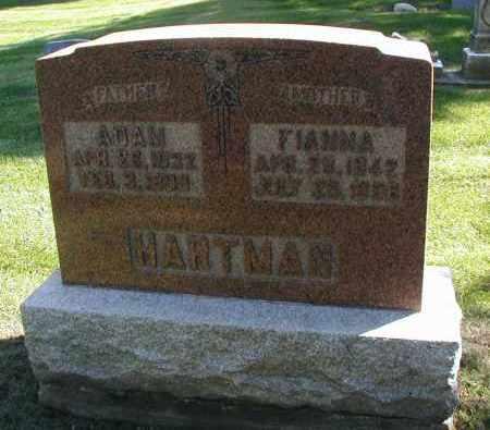 HARTMAN, FIANNA - DuPage County, Illinois | FIANNA HARTMAN - Illinois Gravestone Photos