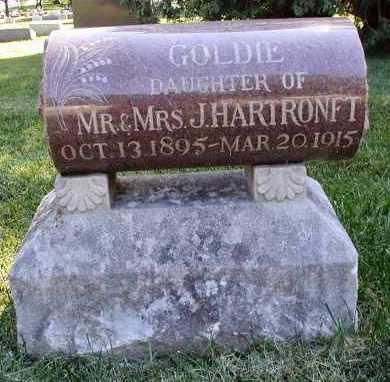 HARTRONFT, GOLDIE - DuPage County, Illinois | GOLDIE HARTRONFT - Illinois Gravestone Photos
