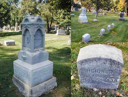 HEIDNER, MARY JANE - DuPage County, Illinois | MARY JANE HEIDNER - Illinois Gravestone Photos