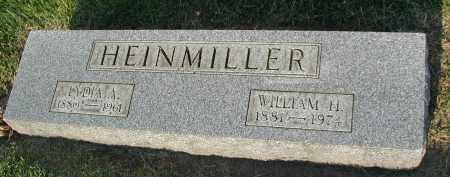 HEINMILLER, WILLIAM H. - DuPage County, Illinois   WILLIAM H. HEINMILLER - Illinois Gravestone Photos