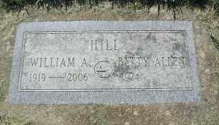 HILL, WILLIAM A. - DuPage County, Illinois | WILLIAM A. HILL - Illinois Gravestone Photos
