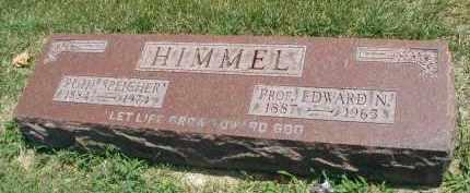 HIMMEL, PROF. EDWARD N. - DuPage County, Illinois | PROF. EDWARD N. HIMMEL - Illinois Gravestone Photos