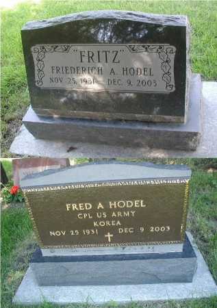 "HODEL, FRIEDERICH A. ""FRITZ"" - DuPage County, Illinois 