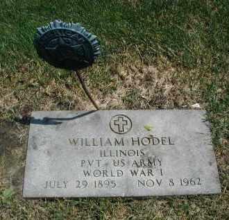 HODEL, WILLIAM - DuPage County, Illinois | WILLIAM HODEL - Illinois Gravestone Photos
