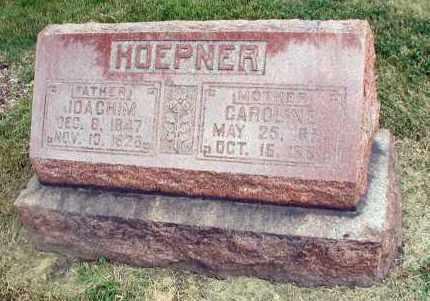 HOEPNER, CAROLINE - DuPage County, Illinois | CAROLINE HOEPNER - Illinois Gravestone Photos