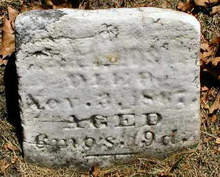 HOSLER, UNKNOWN - DuPage County, Illinois   UNKNOWN HOSLER - Illinois Gravestone Photos