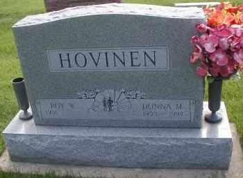 HOVINEN, DONNA M. - DuPage County, Illinois   DONNA M. HOVINEN - Illinois Gravestone Photos