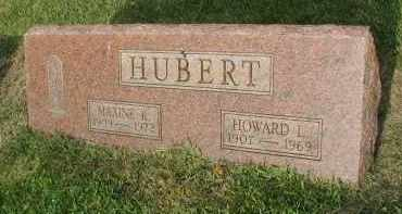 HUBERT, HOWARD L. - DuPage County, Illinois | HOWARD L. HUBERT - Illinois Gravestone Photos