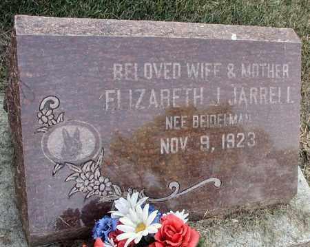 JARRELL, ELIZABETH J. - DuPage County, Illinois | ELIZABETH J. JARRELL - Illinois Gravestone Photos