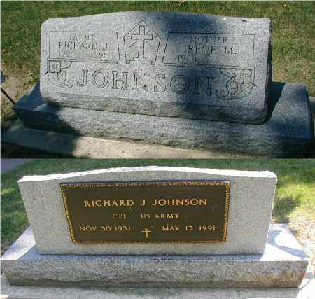 JOHNSON, RICHARD J. - DuPage County, Illinois | RICHARD J. JOHNSON - Illinois Gravestone Photos