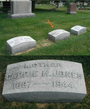 JONES, CARRIE H. - DuPage County, Illinois   CARRIE H. JONES - Illinois Gravestone Photos