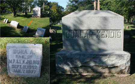 JULIUS, DORA A. - DuPage County, Illinois | DORA A. JULIUS - Illinois Gravestone Photos