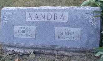 KANDRA, CHRIST - DuPage County, Illinois   CHRIST KANDRA - Illinois Gravestone Photos