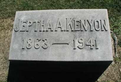 KENYON, JEPTHA A. - DuPage County, Illinois   JEPTHA A. KENYON - Illinois Gravestone Photos