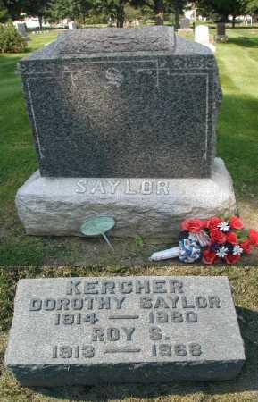KERCHER, DOROTHY - DuPage County, Illinois | DOROTHY KERCHER - Illinois Gravestone Photos
