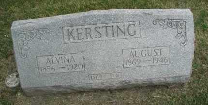 KERSTING, AUGUST - DuPage County, Illinois   AUGUST KERSTING - Illinois Gravestone Photos