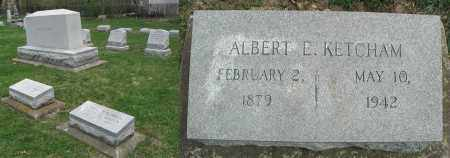 KETCHAM, ALBERT E. - DuPage County, Illinois | ALBERT E. KETCHAM - Illinois Gravestone Photos