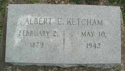 KETCHAM, ALBERT E. - DuPage County, Illinois   ALBERT E. KETCHAM - Illinois Gravestone Photos