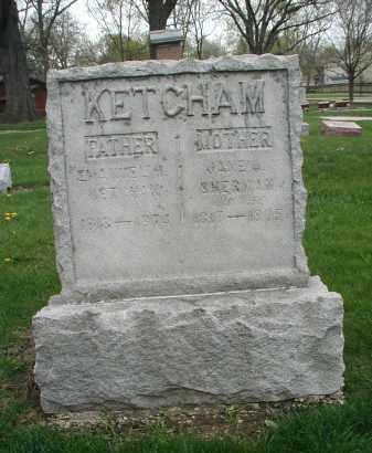 KETCHAM, EMANUEL H. - DuPage County, Illinois | EMANUEL H. KETCHAM - Illinois Gravestone Photos