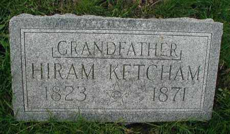 KETCHAM, HIRAM - DuPage County, Illinois | HIRAM KETCHAM - Illinois Gravestone Photos