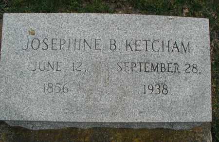 KETCHAM, JOSEPHINE B. - DuPage County, Illinois   JOSEPHINE B. KETCHAM - Illinois Gravestone Photos