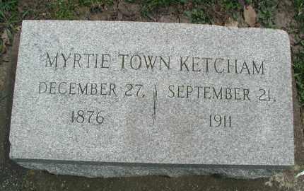 KETCHAM, MYRTIE - DuPage County, Illinois   MYRTIE KETCHAM - Illinois Gravestone Photos