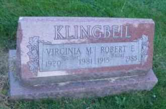 KLINGBIEL, ROBERT E. - DuPage County, Illinois | ROBERT E. KLINGBIEL - Illinois Gravestone Photos