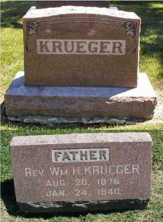 KRUEGER, REV. WILLIAM M. - DuPage County, Illinois   REV. WILLIAM M. KRUEGER - Illinois Gravestone Photos