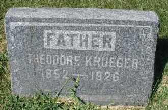 KRUEGER, THEODORE - DuPage County, Illinois | THEODORE KRUEGER - Illinois Gravestone Photos
