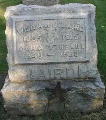 LAIRD, WILLIAM J. - DuPage County, Illinois | WILLIAM J. LAIRD - Illinois Gravestone Photos