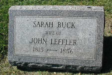 BUCK LEFFLER, SARAH - DuPage County, Illinois | SARAH BUCK LEFFLER - Illinois Gravestone Photos