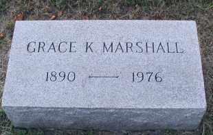 MARSHALL, GRACE K. - DuPage County, Illinois | GRACE K. MARSHALL - Illinois Gravestone Photos