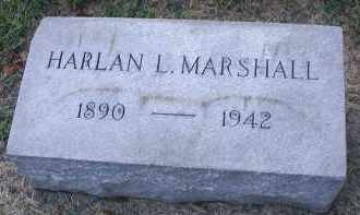 MARSHALL, HARLAN L. - DuPage County, Illinois | HARLAN L. MARSHALL - Illinois Gravestone Photos