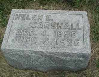 MARSHALL, HELEN E. - DuPage County, Illinois | HELEN E. MARSHALL - Illinois Gravestone Photos