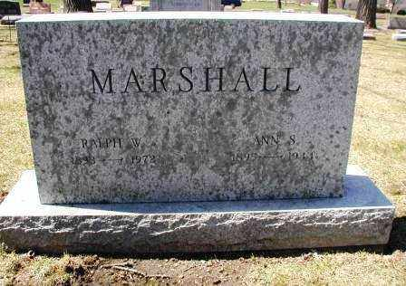 MARSHALL, RALPH W. - DuPage County, Illinois | RALPH W. MARSHALL - Illinois Gravestone Photos