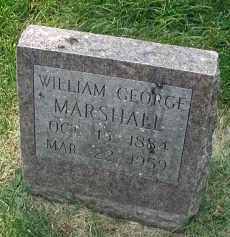 MARSHALL, WILLIAM GEORGE - DuPage County, Illinois | WILLIAM GEORGE MARSHALL - Illinois Gravestone Photos
