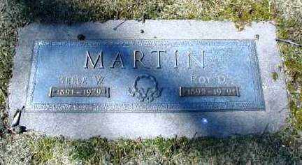 MARTIN, ROY D. - DuPage County, Illinois | ROY D. MARTIN - Illinois Gravestone Photos