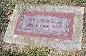 MARTIN, EMILY M. - DuPage County, Illinois   EMILY M. MARTIN - Illinois Gravestone Photos