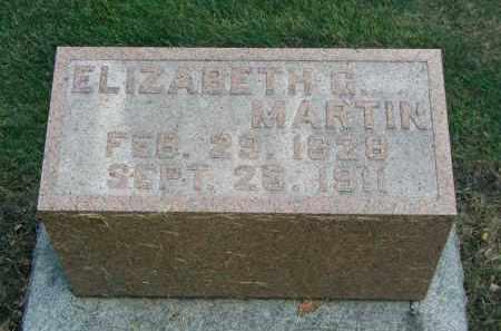 MARTIN, ELIZABETH G. - DuPage County, Illinois | ELIZABETH G. MARTIN - Illinois Gravestone Photos