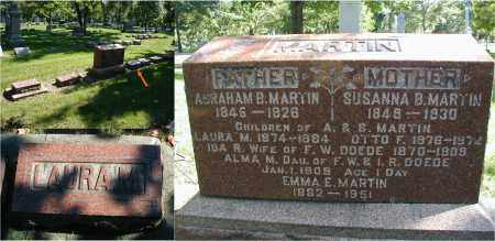 MARTIN, LAURA M. - DuPage County, Illinois | LAURA M. MARTIN - Illinois Gravestone Photos