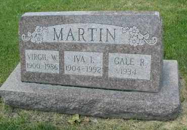 MARTIN, VIRGIL W. - DuPage County, Illinois | VIRGIL W. MARTIN - Illinois Gravestone Photos