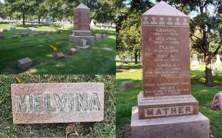 MATHER, MELVINA - DuPage County, Illinois | MELVINA MATHER - Illinois Gravestone Photos